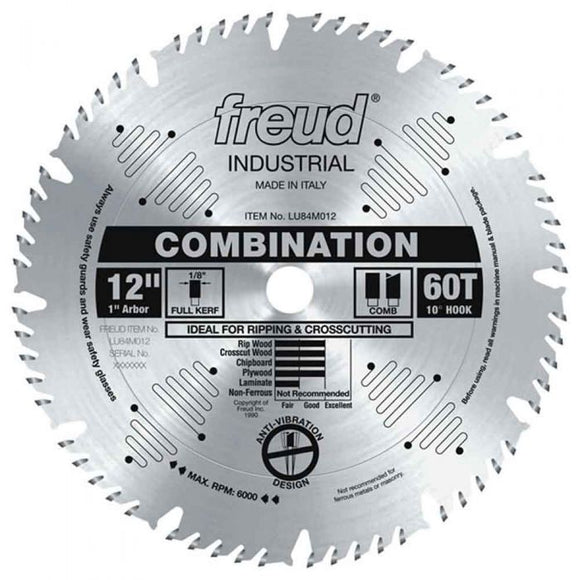 LU84M012 Freud Combination Saw Blade