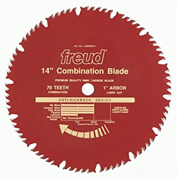 LU84R014 Freud Combination Saw Blade