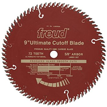 LU85R009 Freud Ultimate Cut-Off Saw Blade