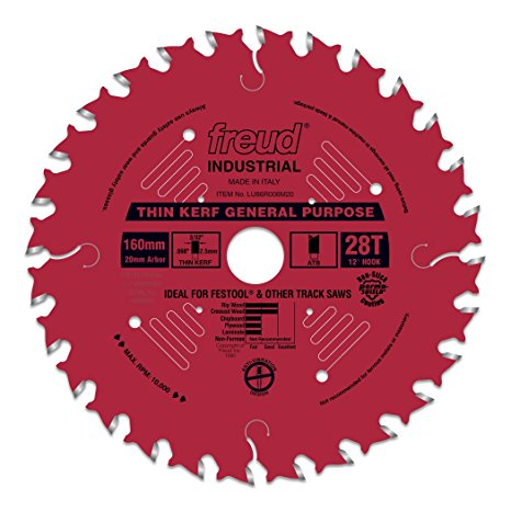 LU86R006M20 Freud Thin Kerf General Purpose Saw Blade