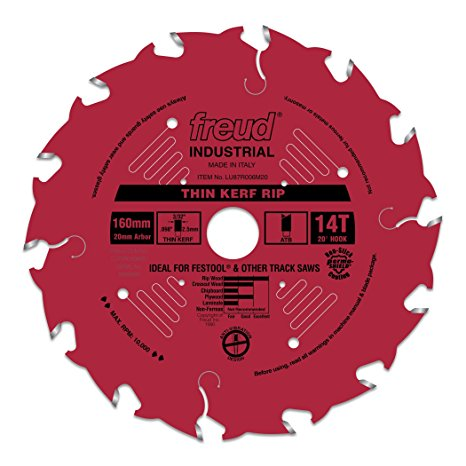 LU87R006M20 Freud Thin Kerf Rip Saw Blade