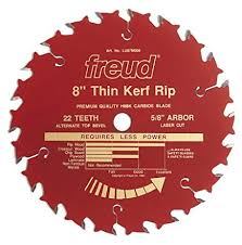 LU87R008 Freud Thin Kerf Rip Saw Blade
