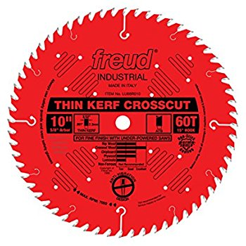 LU88R010 Freud Thin Kerf Fine Finish Cross Cutting Saw Blade