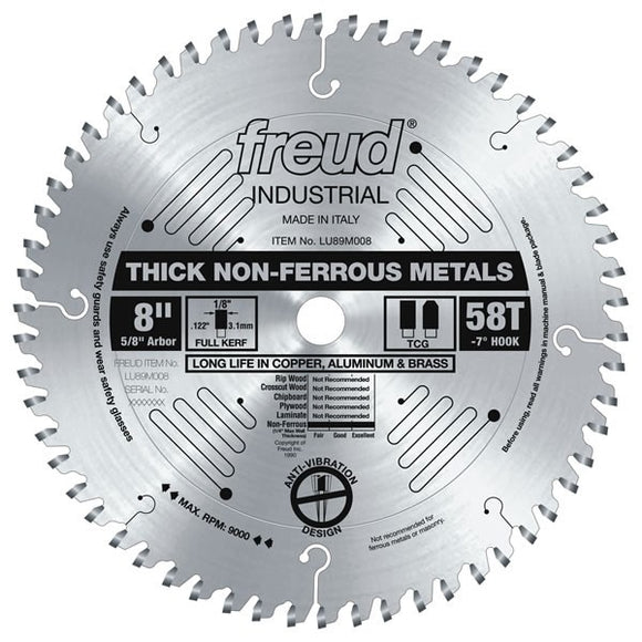 LU89M008 Freud Thick Non-Ferrous Metal Cutting Saw Saw Blade