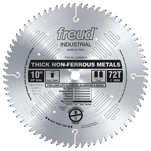 LU89M010 Freud Thick Stock Non Ferrous Metal Cutting Saw Blade