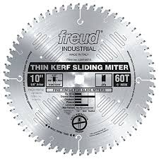 LU91M008 Freud Thin Kerf Sliding Compound Miter Saw Blade
