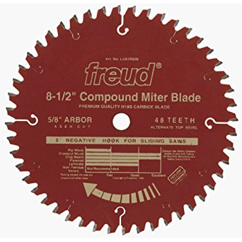 LU91R008 Freud Thin Kerf SLiding Compound Miter Saw Blade