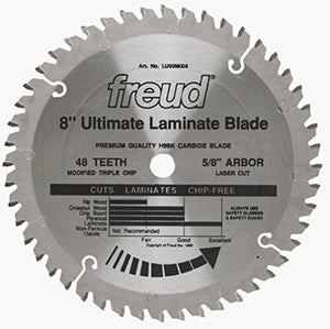 LU92M008 Freud Thick-Stock Laminate Cutting Saw Blade
