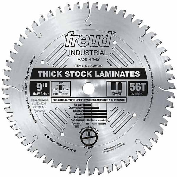 LU92M009 Freud Laminate Cutting Saw Blade