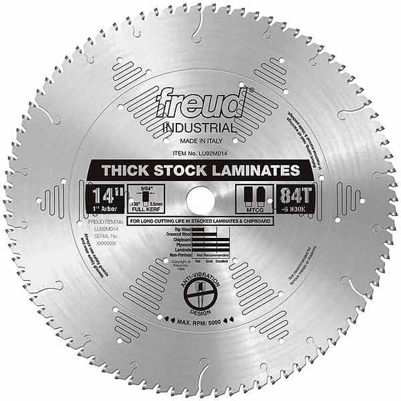 LU92M014 Freud Laminate Cutting Saw Blade