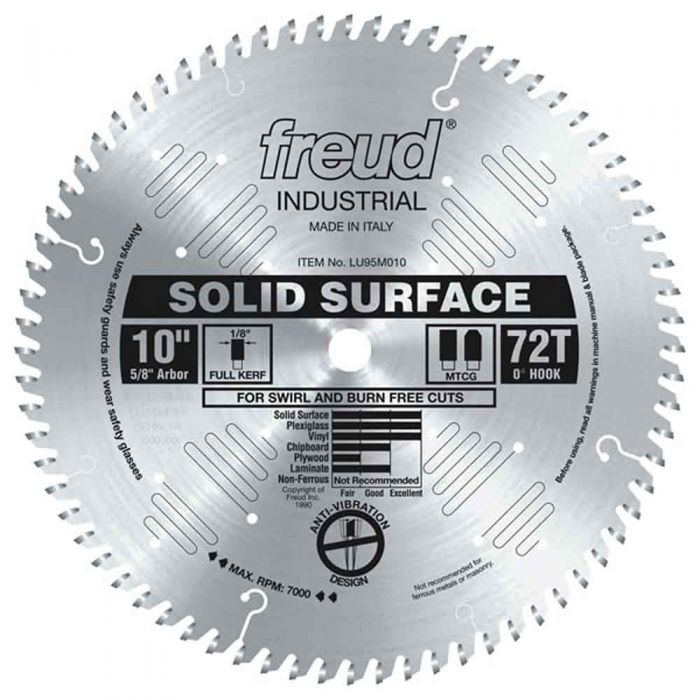 LU95M010 Freud Solid Surface Saw Blade