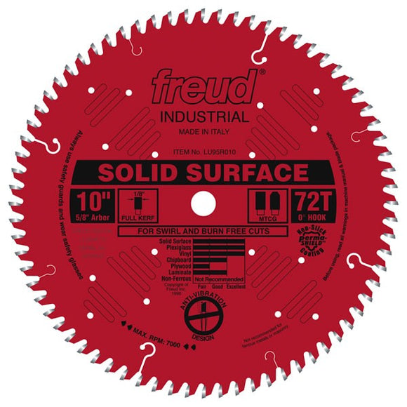 LU95R010 Freud Solid Surface Saw Blade