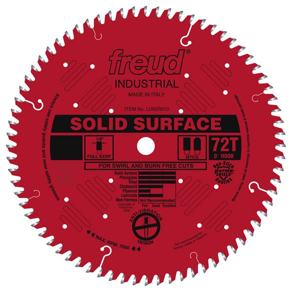 LU95R014 Freud Solid Surface Saw Blade