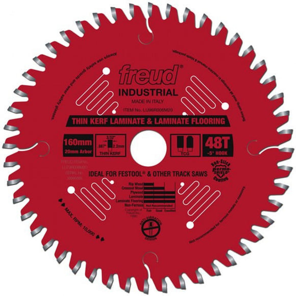 LU96R006M20 Freud Thin Kerf Laminate/Melamine Saw Blade