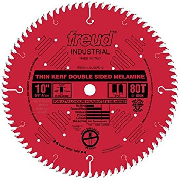 LU96R010 Freud Thin Kerf Laminate/Melamine Saw Blade
