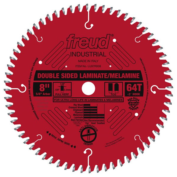 LU97R008 Freud Laminate/Melamine Saw Blade