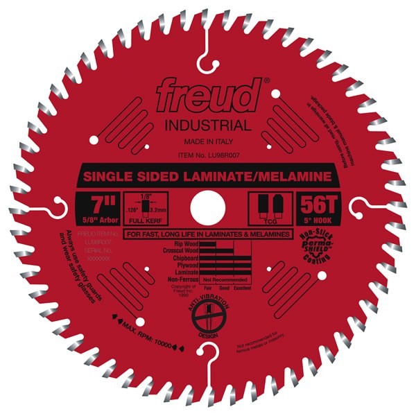 LU98R007 Freud Laminate/Melamine Saw Blade