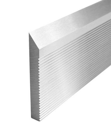 "1/4"" X 1-1/4"" X 25"" Corrugated Moulder Knife"