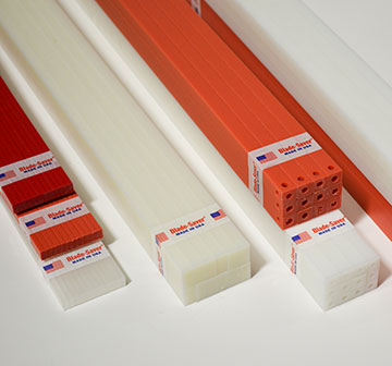 RED PREMIUM POLAR .174 x .390 x 45.669 Paper Cutting Stick
