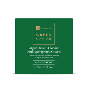 Dr Botanicals Green Caviar & Argan Oil Anti-Oxidant Anti-Ageing Night Cream