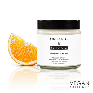 Organic & Botanic Tangerine and Shea Butter Body Cream. 100Ml