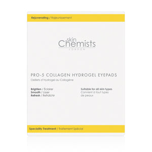 Skin Chemists Pro-5 Collagen Hydrogel Eyepads