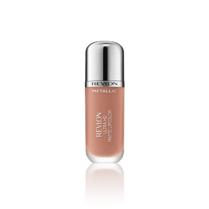 Revlon Ultra HD Metallic Matte Liquid Lipcolor - Nude