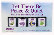 Now Peace & Quite Essential Oil Kit - 4 bottles - New Roads Nutrition