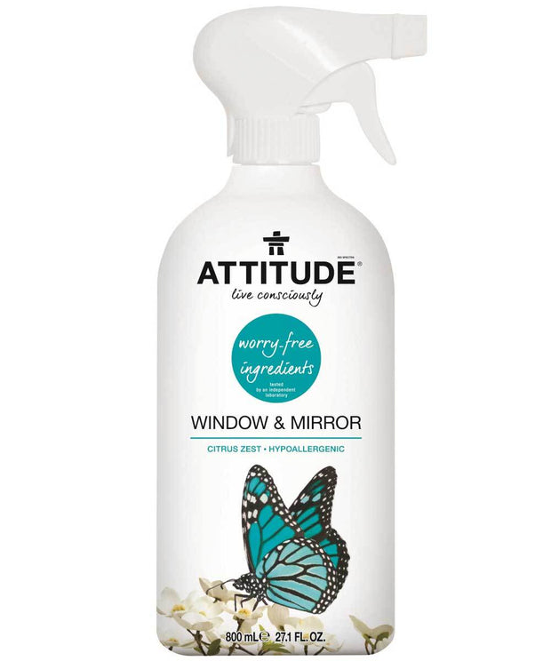 Attitude Cleaner Window 800 ml - New Roads Nutrition