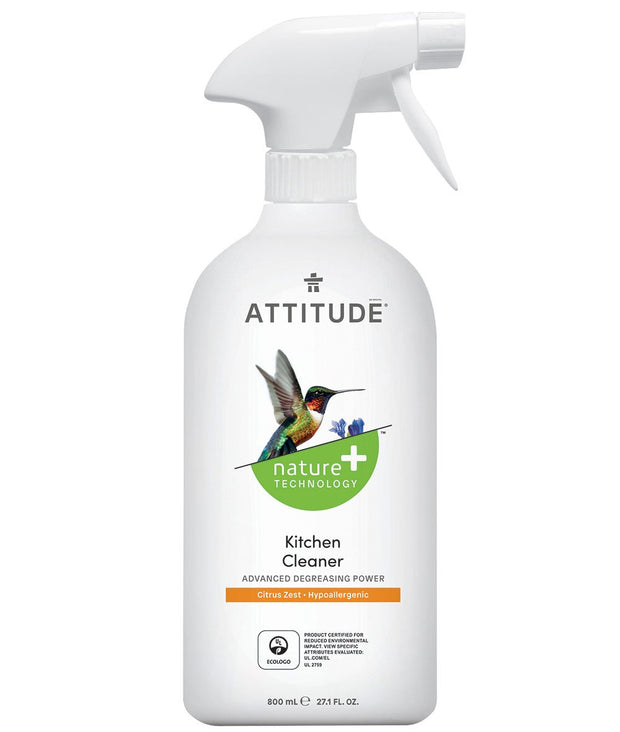 Attitude Cleaner Kitchen 800 ml - New Roads Nutrition
