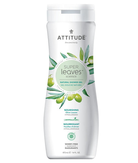 Attitude Shower Gel Nourishing 473 ml - New Roads Nutrition