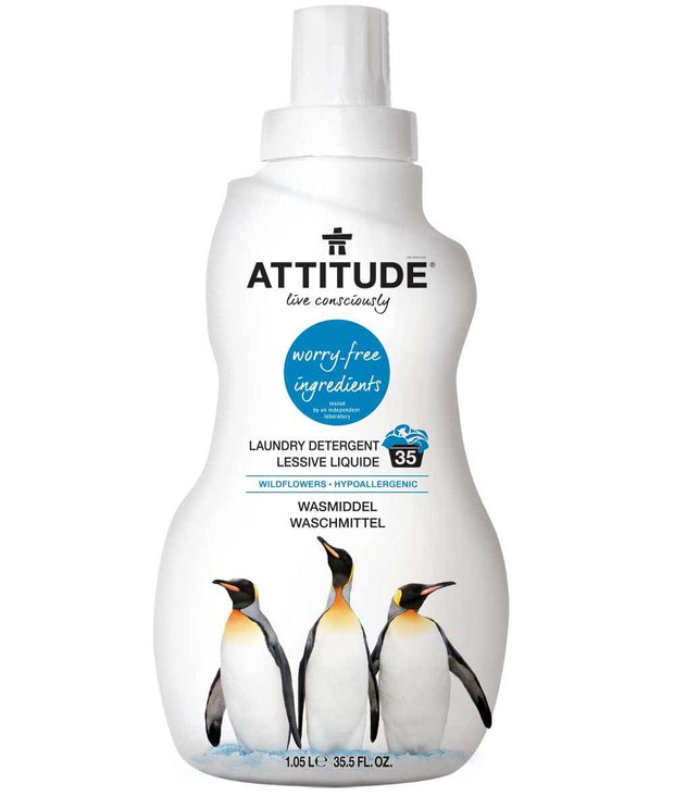 Attitude Laundry Detergent Wildflower 1.8L - New Roads Nutrition