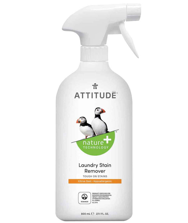 Attitude Laundry Stain Remover 800 ml - New Roads Nutrition