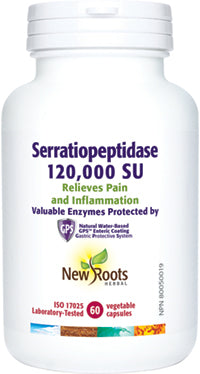 New Roots Serratiopeptides 60 caps