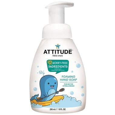 Attitude Hand Soap Foaming Little Ones Pear Nectar 295 ml - New Roads Nutrition