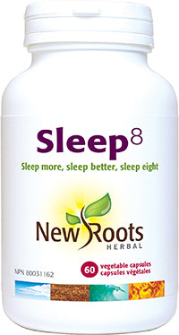 New Roots Sleep 8 - 60 caps - New Roads Nutrition