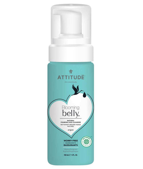 Attitude Blooming Belly Face Cleanser Natural Foaming Argan 150 ml - New Roads Nutrition