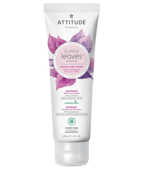Attitude Body Cream Soothing White Tea 240 ml - New Roads Nutrition