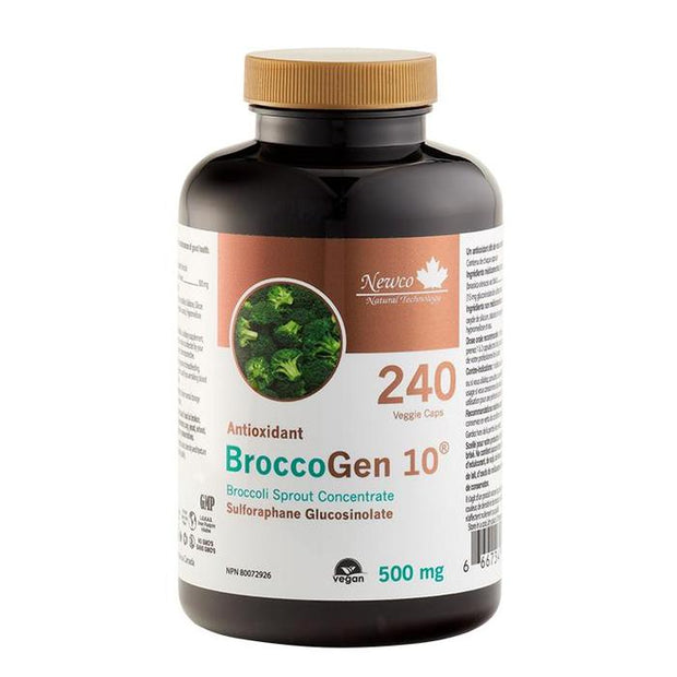 Newco BroccoGen 10 - 240 caps 500mg - New Roads Nutrition