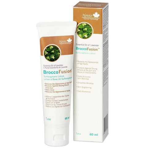 Newco BroccoFusion Lavender Lotion 60 ml Tube - New Roads Nutrition