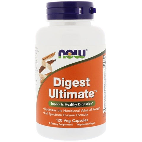 Now Digest Ultimate Lactose 120 caps - New Roads Nutrition