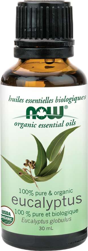 Now Eucalyptus Oil Globulus 30 ml - New Roads Nutrition
