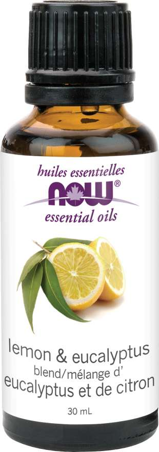 Now EO Lemon & Eucalyptus Oil 30 ml - New Roads Nutrition