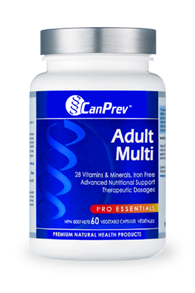CanPrev Adult Multi 60 ct - New Roads Nutrition