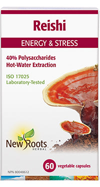 New Roots Reishi Mushrooms 60 caps - New Roads Nutrition