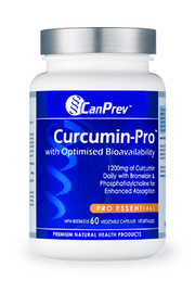 CanPrev Curcumin-Pro 60 caps - New Roads Nutrition