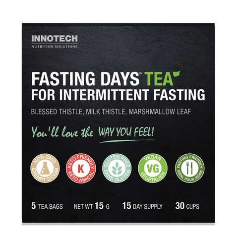 Innotech Fasting Days Tea 30 cups / 5 tea bags / 15 day supply