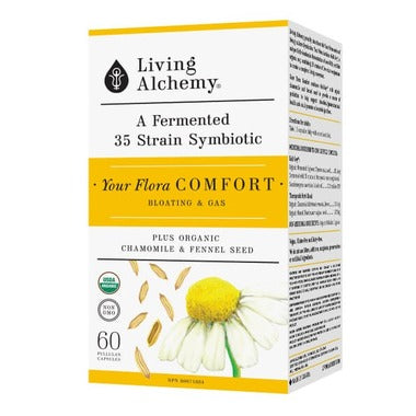 Living Alchemy Flora Comfort 60 caps - New Roads Nutrition
