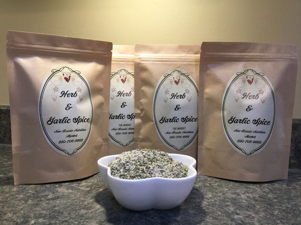 Spice Herb & Garlic Blend 50gr - New Roads Nutrition