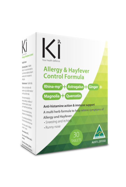 Martin & Pleasance -KI Allergy & HayFever Control Formula 30 tabs - New Roads Nutrition